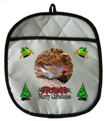 Finch Christmas Pot Holder