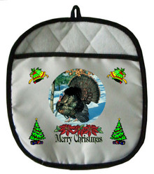 Turkey Christmas Pot Holder