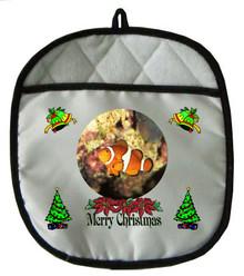 Clownfish Christmas Pot Holder