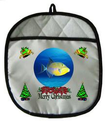Triggerfish Christmas Pot Holder