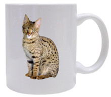 Savannah Cat Coffee Mug