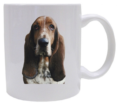 I Love My Basset Hound Coffee Mug