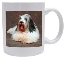 I Love My Bearded Collie Coffee Mug