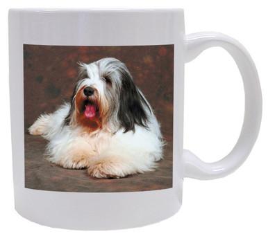 I Love My Bearded Collie Coffee Mug
