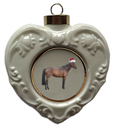 Oldenburg Heart Christmas Ornament
