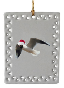 Black Headed Gull  Christmas Ornament