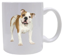 I Love My Bulldog Coffee Mug