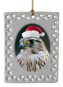 Falcon  Christmas Ornament