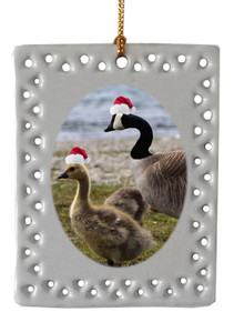 Geese  Christmas Ornament