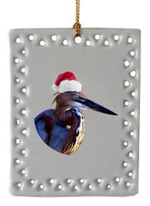 Goliath Heron  Christmas Ornament