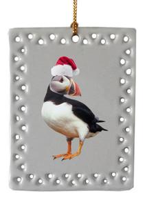 Atlantic Puffin  Christmas Ornament