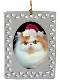Persian Cat  Christmas Ornament