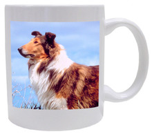 I Love My Collie Coffee Mug