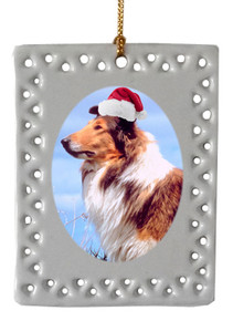 Collie  Christmas Ornament