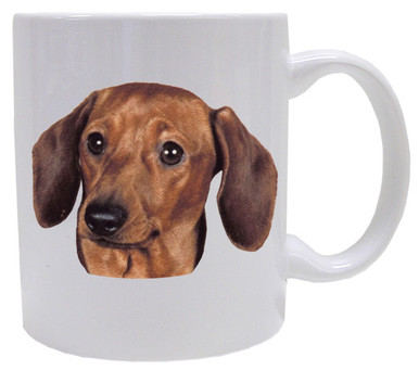 I Love My Dachshund Coffee Mug