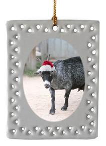 Goat  Christmas Ornament