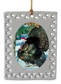 Turkey  Christmas Ornament