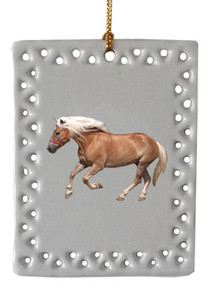 Haflinger  Christmas Ornament