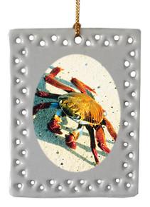 Crab  Christmas Ornament