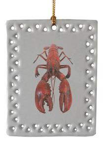 Lobster  Christmas Ornament