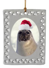 Seal  Christmas Ornament