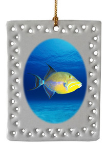 Triggerfish  Christmas Ornament