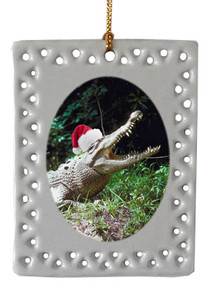 Crocodile  Christmas Ornament
