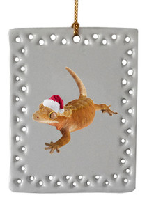 Gecko  Christmas Ornament