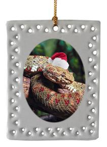 Viper Snake  Christmas Ornament