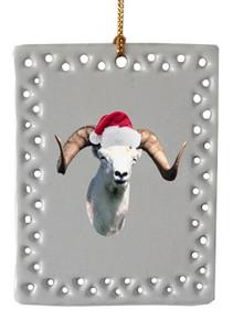 Big Horned Sheep  Christmas Ornament