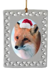 Fox  Christmas Ornament
