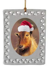 Mountain Goat  Christmas Ornament