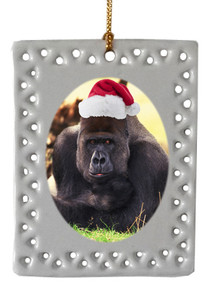 Gorilla  Christmas Ornament