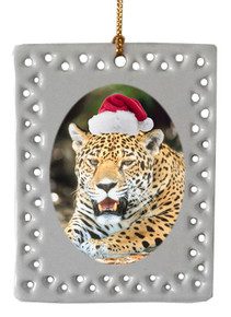 Jaguar  Christmas Ornament