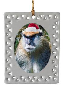 Monkey  Christmas Ornament