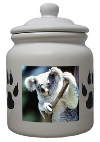 Koala Bear Ceramic Color Cookie Jar