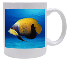 Blue Girdled Angelfish Coffee Mug