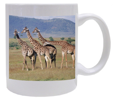 Giraffe Coffee Mug