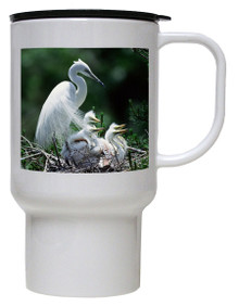 Egret Polymer Plastic Travel Mug