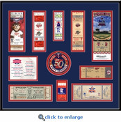Minnesota Twins Tickets to History - Replica Ticket Frame