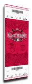 2015 MLB All-Star Game Canvas Mega Ticket - Cincinnati Reds