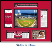 2015 MLB All-Star Game Ticket Frame - Cincinnati Reds