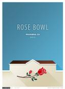 UCLA Bruins - Rose Bowl Simple Print