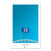 Seattle Seahawks - CenturyLink Field Art Poster