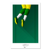 Green Bay Packers - Lambeau Field Art Poster
