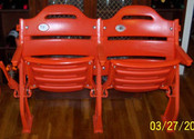 Shea Stadium Seats (Set of Two) - New York Mets