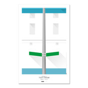 Detroit Tigers - Tiger Stadium Art Poster