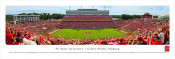 NC State Wolfpack at Carter Finley Stadium Panorama Poster