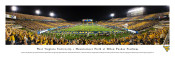 West Virginia Mountaineers at Mountaineer Field Panorama Poster