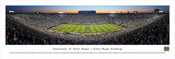 """Notre Dame vs. Michigan"" Notre Dame Stadium Panorama Poster"